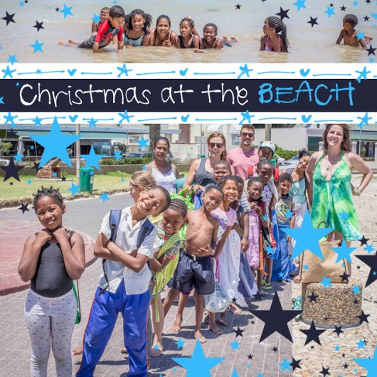 SOS Africa Somerset West: Celebrating Christmas at the Beach