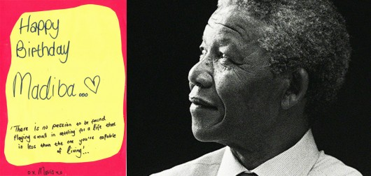 Happy Birthday Tata Madiba (In Heaven)