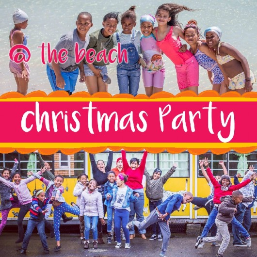 SOS Africa Grabouw: Christmas Party AT THE BEACH