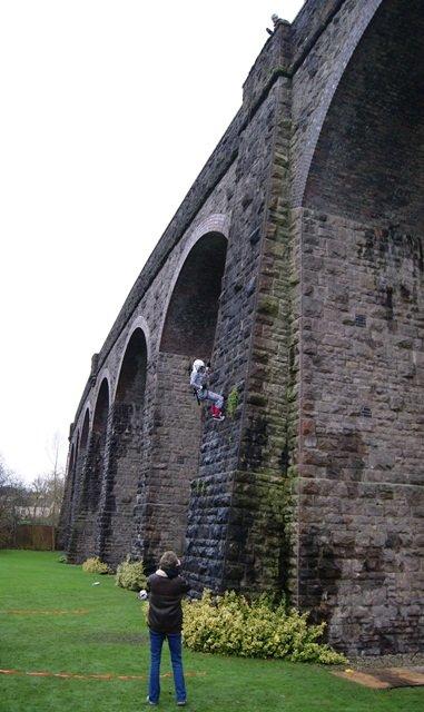 The Kilver Court Viaduct