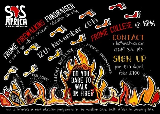 Frome Firewalking Charity Fundraiser