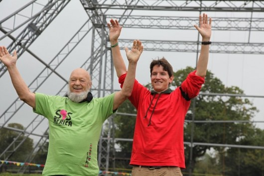 Glastonbury Festival Pyramid Stage Abseil Most Successful Event in Charity's History