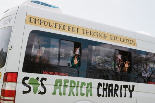Record Corporate Donation Funds SOS Africa School Buses and Expands Feeding Scheme to Gauteng
