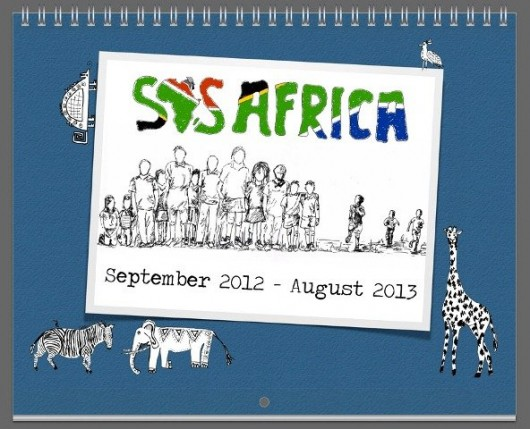 New SOS Africa Charity Calendars Help Raise Valuable Funds for Aftercare Centre