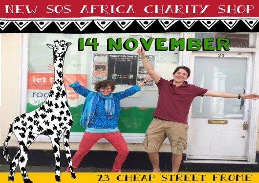 New SOS Africa Charity Shop to Open in Frome