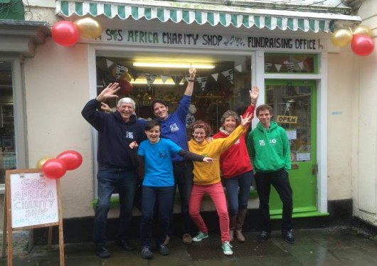 SOS Africas Frome Charity Shop Raises a Years School Tuition on Opening Day