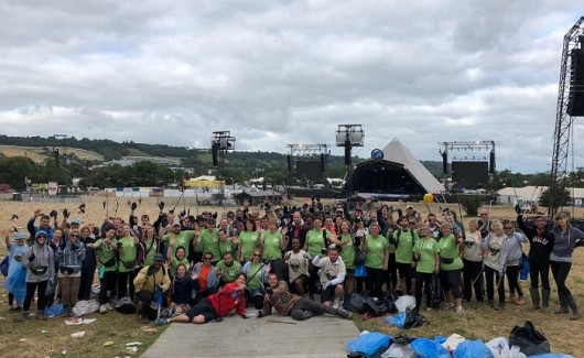 Glastonbury Festival Litter Picking Volunteers Donate £5000 to Protect SOS Africa Children Against Corona Virus Pandemic