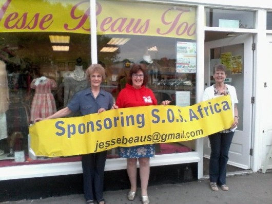 Midsomer Norton retailer opens new store to support SOS Africa children