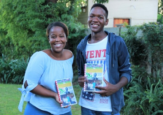 SOS Africa's Kelebogile and Olebogeng Graduate from High School