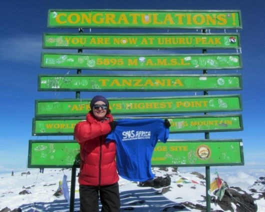 Conquering Kilimanjaro for SOS Africa