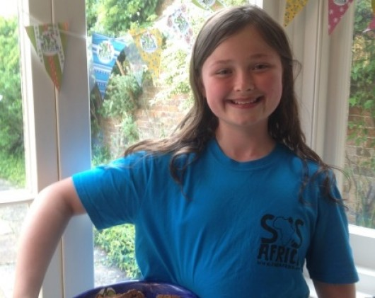 We Raised Over £1000 to Secure a Little Girl's Education by 10 year old Kristyna from Leaden Hall School