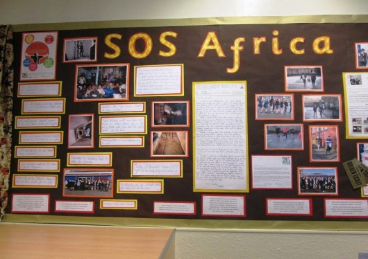 Mab's Cross Primary School Students Fund New Desks for SOS Africa Children in Mafikeng