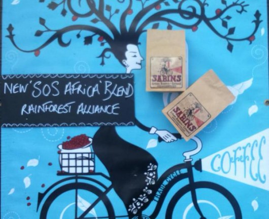 An Exciting New Mix: SOS Africa Coffee Blend Launched by Sabins Artisan Roasters