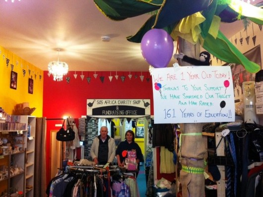SOS Africa Charity Shop Celebrates 1 Year in Business and 161 Years of School Tuition Raised!