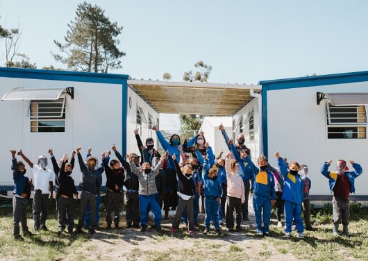 SOS Africa provides new classrooms at vital time for Western Cape School