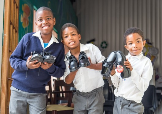 Minnesota Students and SOS Africa Supply School Shoes for Entire Tereo Mission School