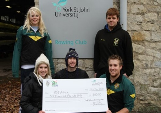 Another Future Secured Thanks to York St John Rowing Club