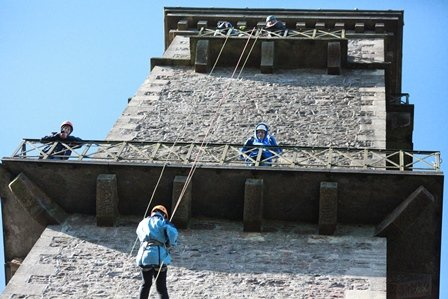 SOS Africa's Cranmore Tower Abseil
