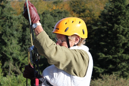 SOS Africa's 92 year old abseiler