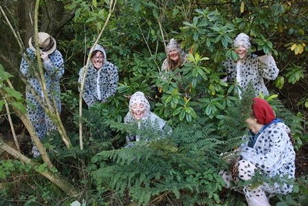 Last year's competition winners: The 'Cheesy Cheetahs'