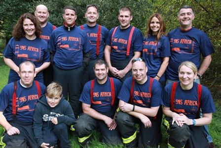 Fire Fighters from Frome Fire Station