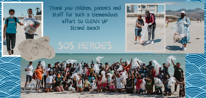 SOS Africa's Beach Clean Up Day