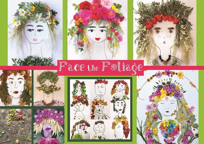 Face the Foliage Art & Nature Lessons with the SOS Africa Children