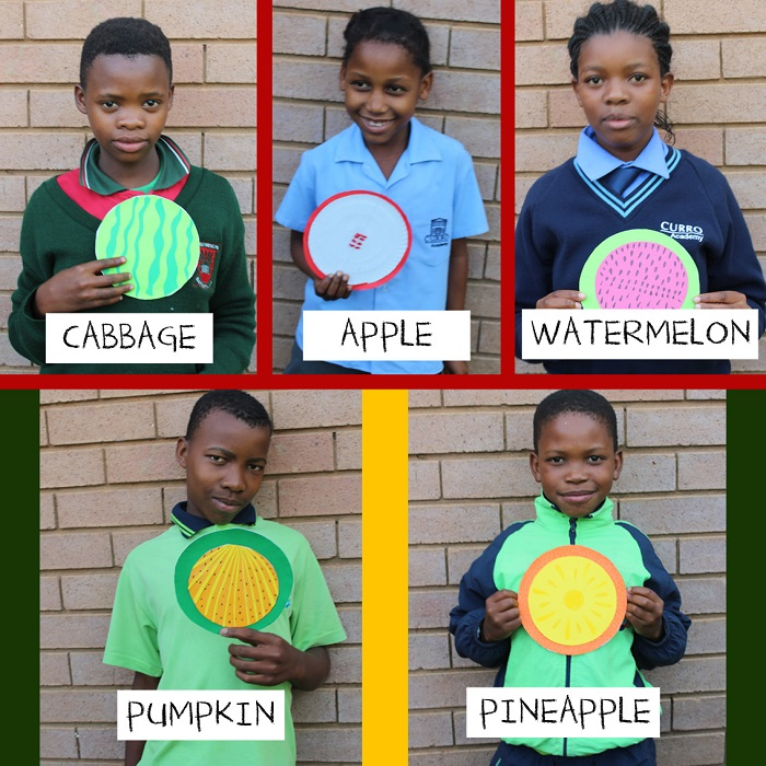 SOS Africa Charity Children's Blog - Fruit and Vegetable Craft Project