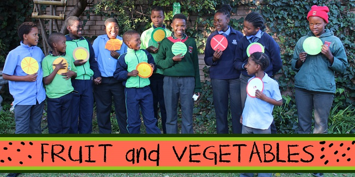 SOS Africa Charity Children's Blog - Children's Fruit and Vegetable Craft Project