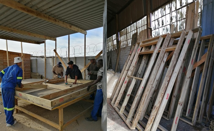 Construction of SOS Africa's Education Centre Building Project at Melkbos Sawmill, Western Cape, South Africa