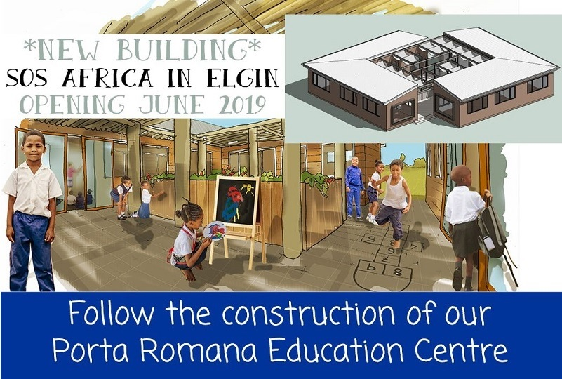 "Follow updates from SOS Africa's ""Porta Romana Education Centre"" Building Project in Elgin South Africa"