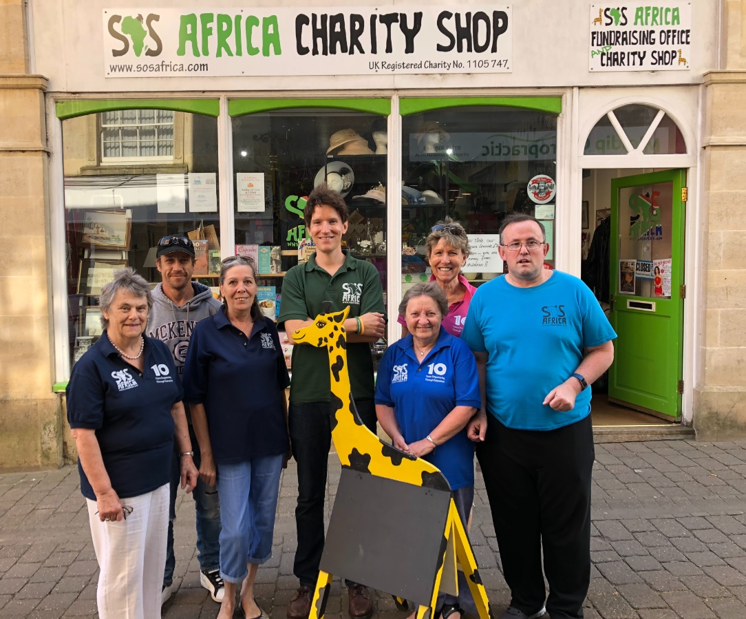 The SOS Africa Charity Shop, Shepton Mallet