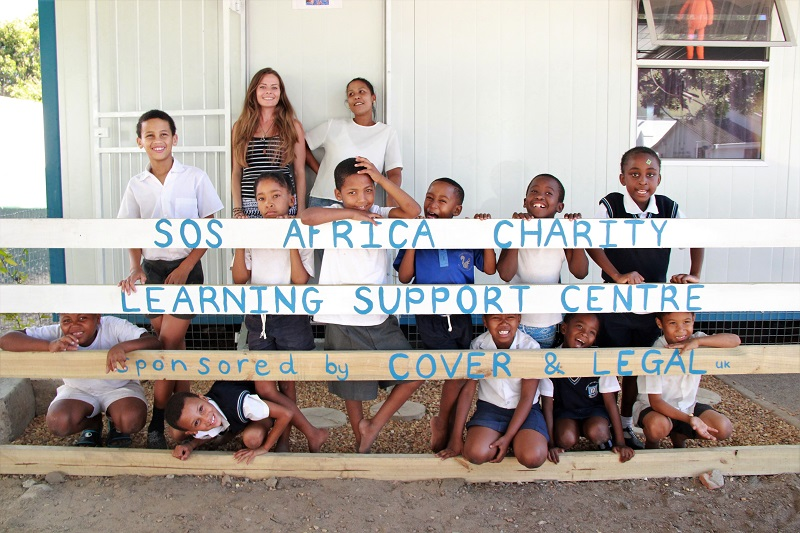 The SOS Africa Charity's Newest Education Centre Assisting Students from Somerset-West Methodist School, South Africa