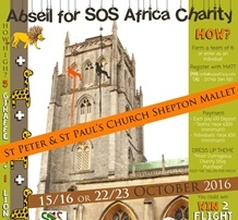 Shepton Mallet Church Abseil Fundraising Event