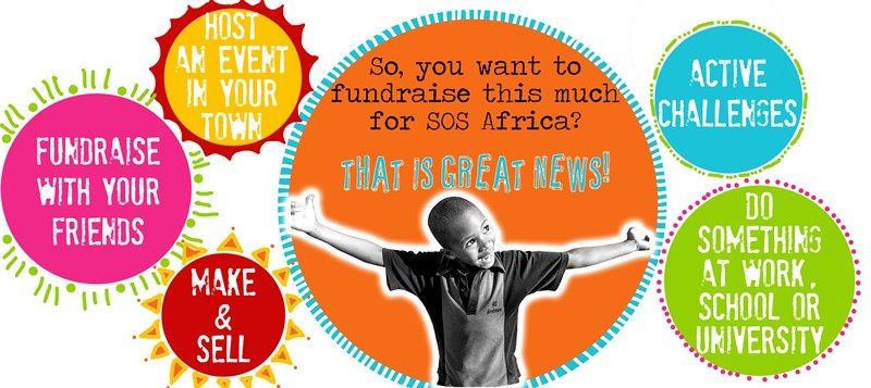 Welcome to the SOS Africa Charity fundraising section...