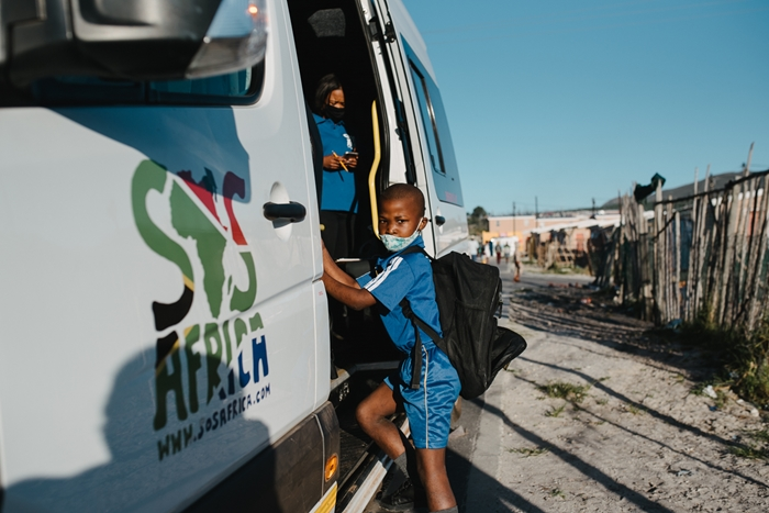 SOS Africa | Providing safe transport for children to and from school