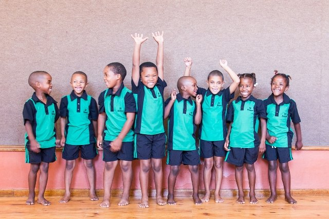 Children supported by SOS Africa in the Western Cape