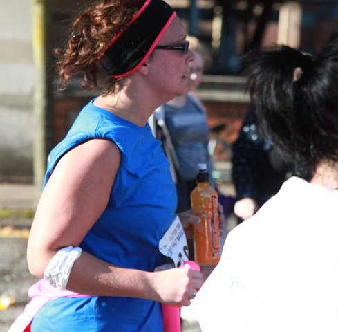 Aimee Pulis determined to finish the half marathon