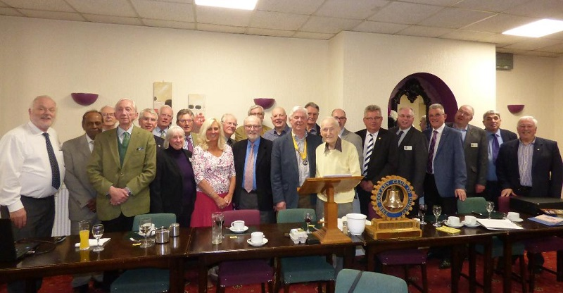 Dudley Rotary Club Members have agreed to fully-fund SOS Africa's first Education Center Building Project
