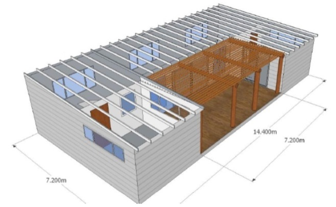 South African company Creative Condos will build the new Education Center