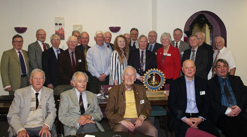 Dudley Rotary Club Members