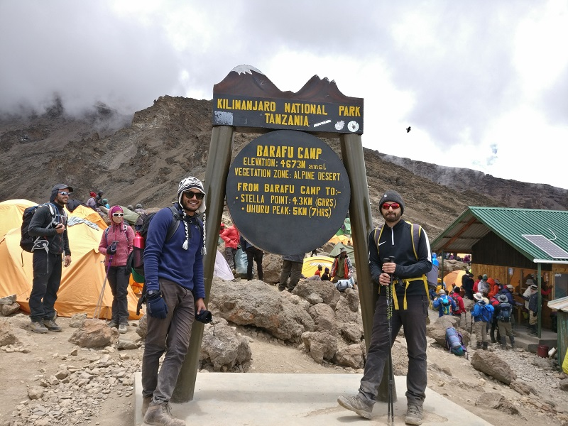 Jesel and Jaimin Conquer Kilimanjaro for SOS Africa