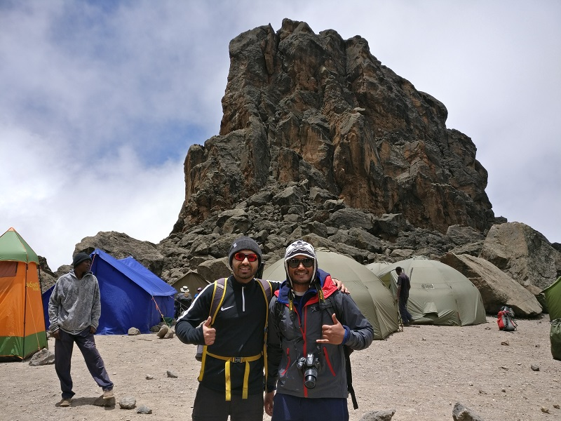 Jesel and Jaimin Climb Kilimanjaro and raise £2250 for the SOS Africa Charity Children