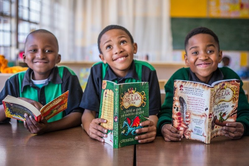 SOS Africa Charity opens new libraries to support children in the Western Cape, South Africa