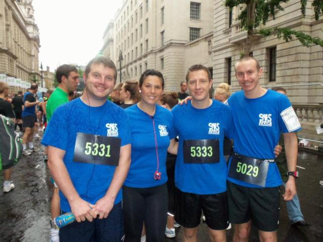 Matthew also recently completed the London 10k Run for SOS Africa