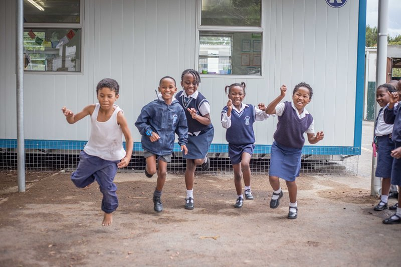 Children attending SOS Africa's new Remedial Centre in Somerset-West