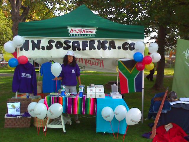 Setting up an SOS Africa Charity Society within Schools and Universities