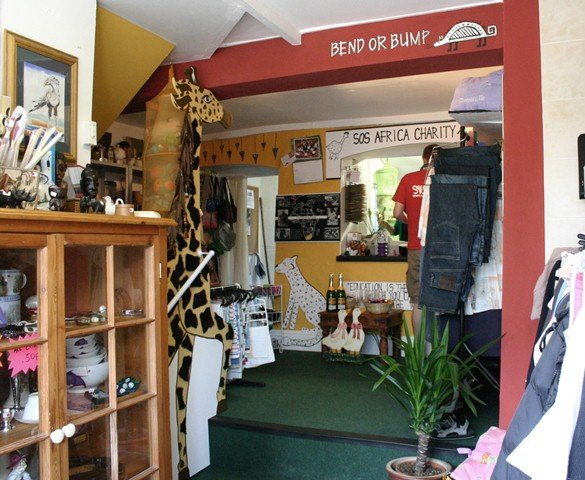 SOS Africa's first Shepton Mallet shop opened in August 2012