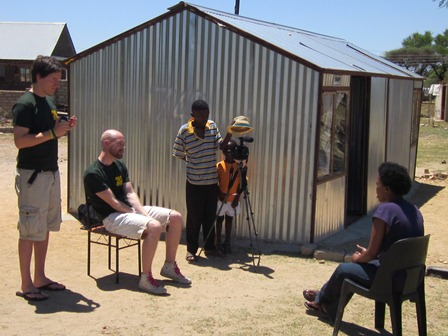 Interviews with the families of the SOS Africa children