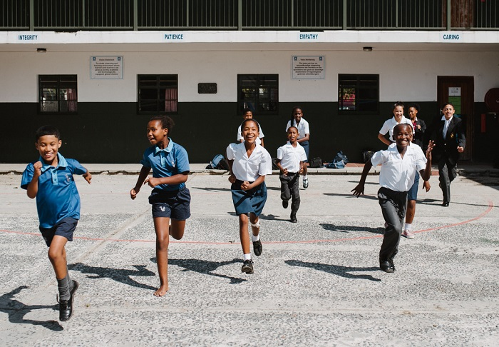 The SOS Africa Somerset West kids head back to school...